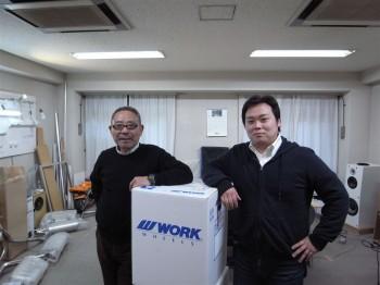 WORK 田中社長/車道楽 坂田